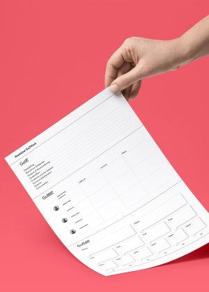 Go2Work – werkblad voor het maken van een content strategie, map en planning